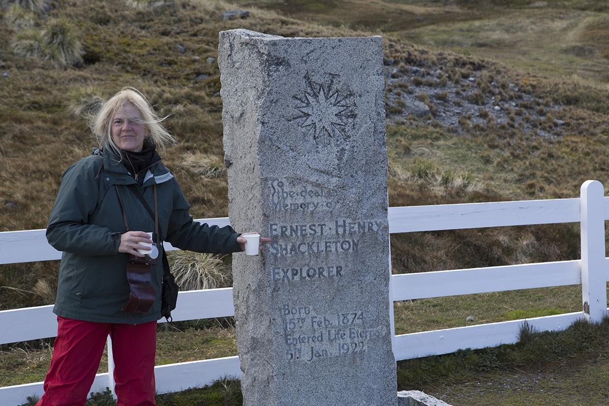 Ein Tost auf Shackleton !