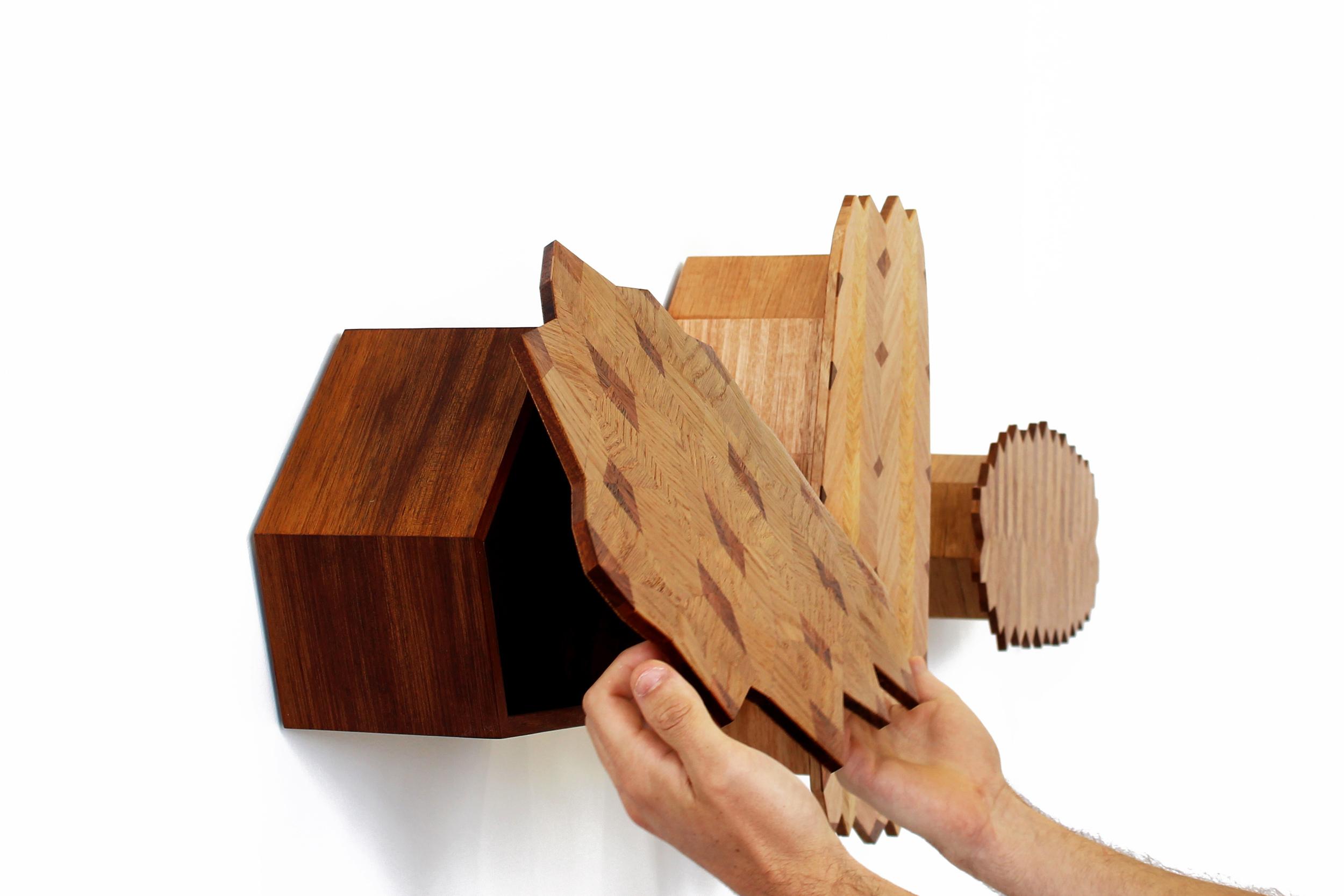 Chelsea lemon furniture design canberra australia parquetry pinecone cabinet