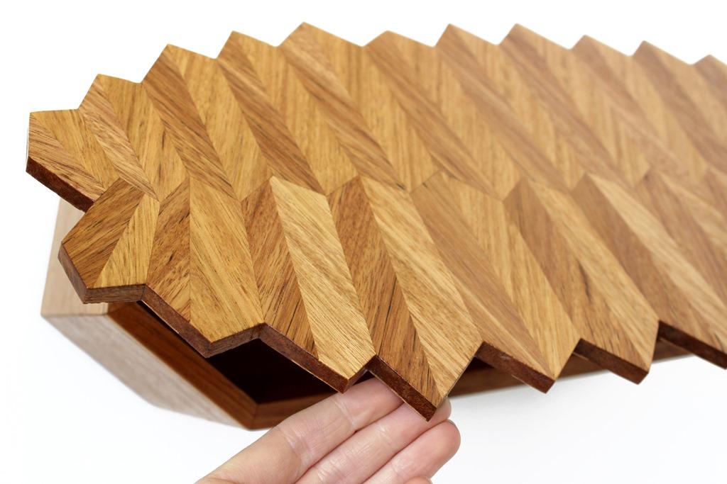 Chelsea lemon furniture design canberra australia parquetry banksia leaf cabinet