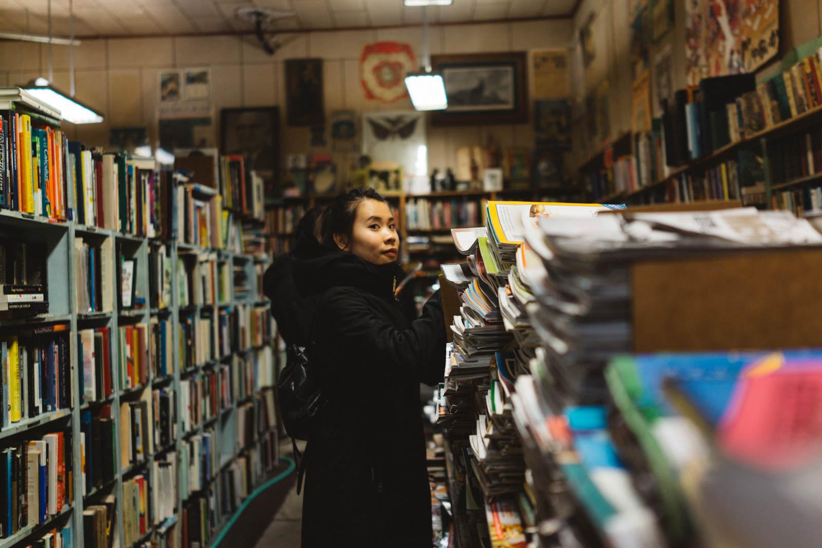 Cameron's Books, Portland, OR. January 2018.