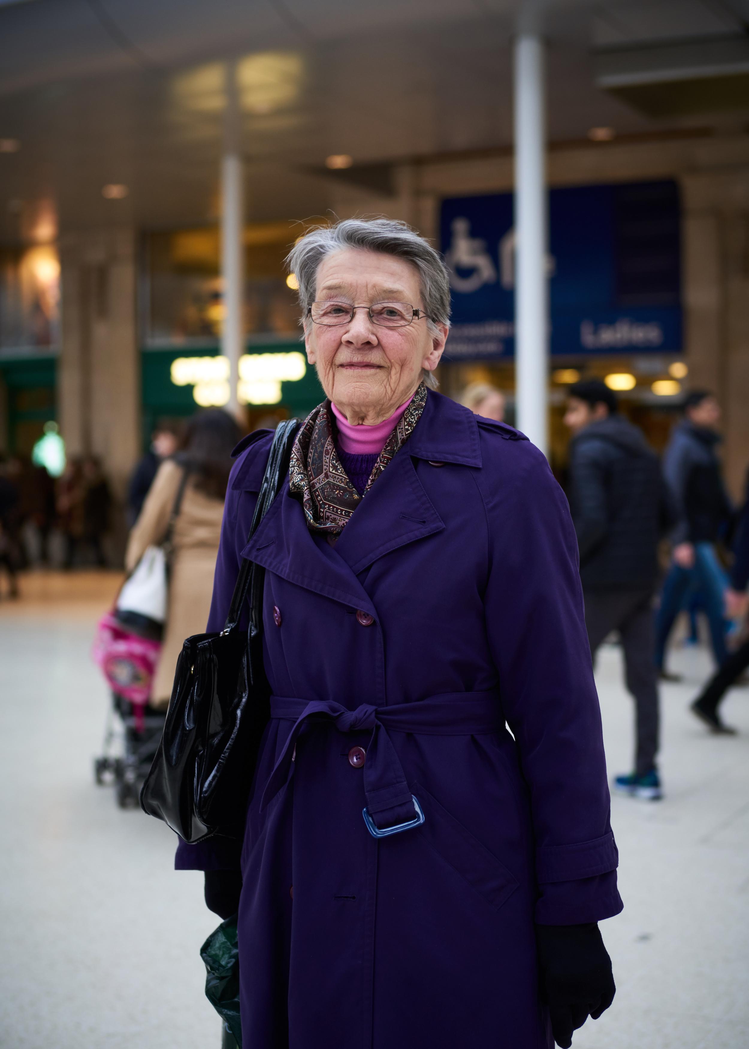'Elaine'  Waterloo Station, London