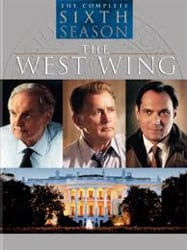 DVD cover for The West Wing, Season Six