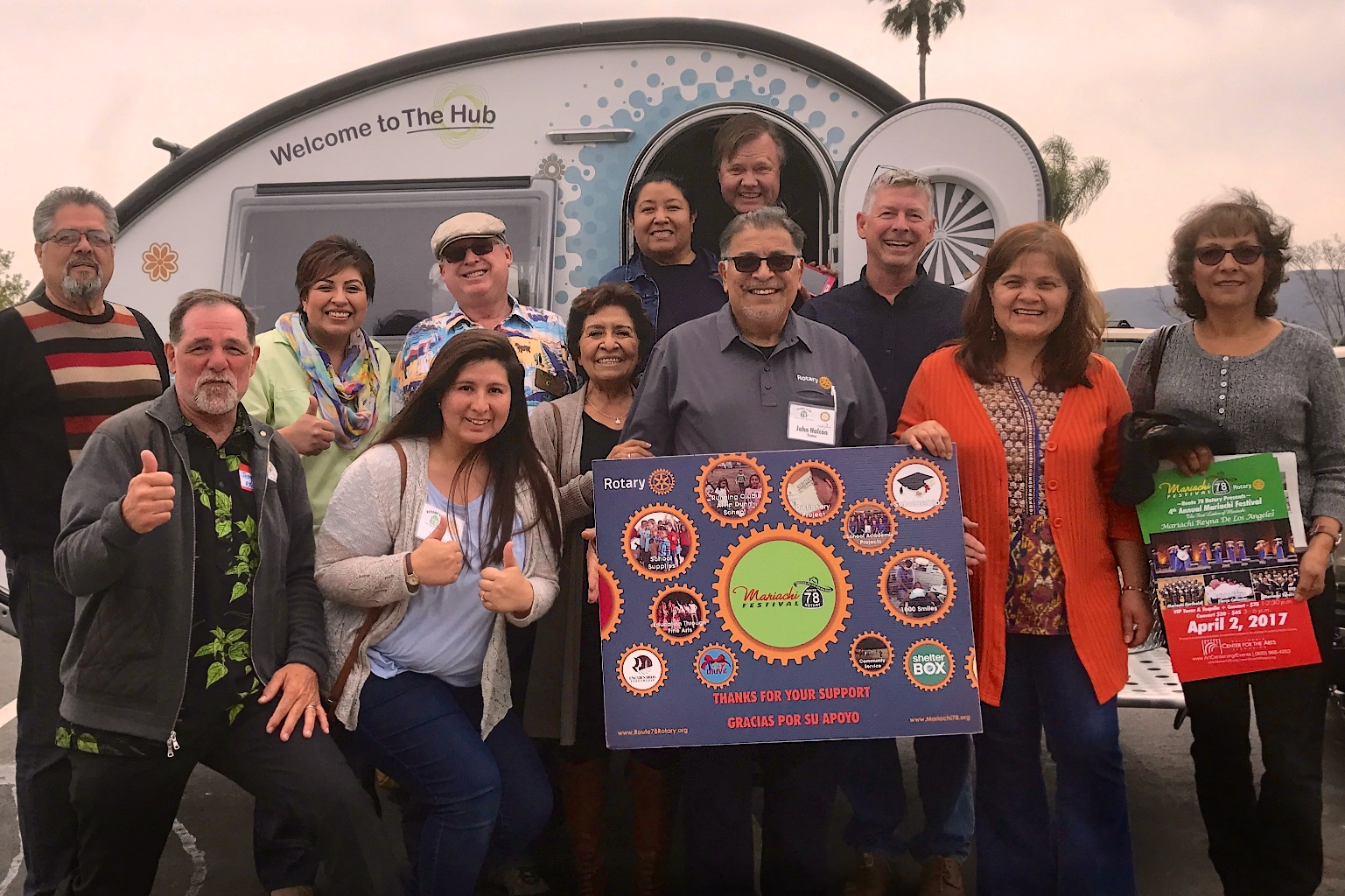 Route 78 Rotary Club, San Marcos, CA. The Encuentros Leadership program is one of the many North County projects supported by Route 78 Rotary.