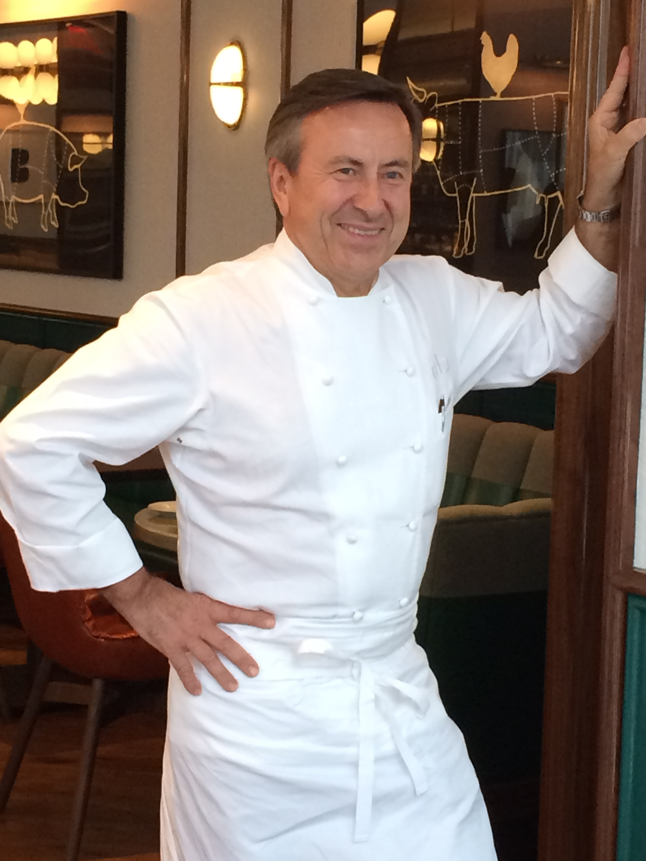 Chef Daniel Boulud, photographed by Stephanie Dickison © 2016.