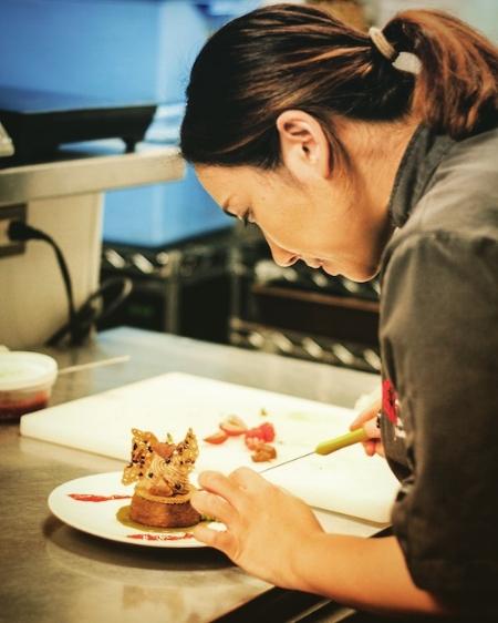 At The Pass Chef Aiko Uchigosh .JPG