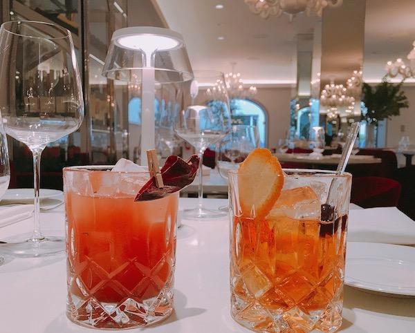 Cocktails by mixologist Nishan Nepulangoda.