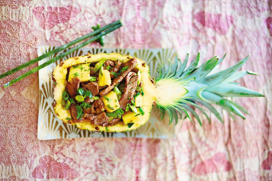 Pineapple Beef   Photo Credit David Loftus