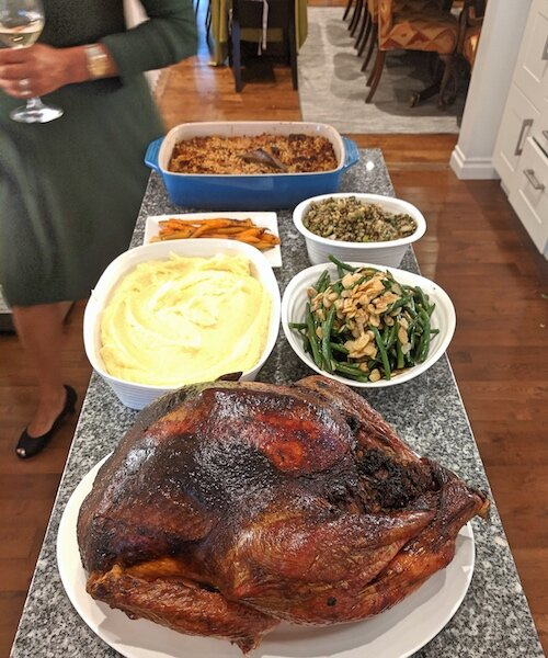 Roast Turkey with Stuffing Dinner by Peter Sanagan, Owner of Sanagan's Meat Locker.