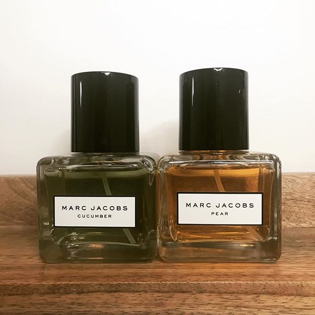 """These are bomb. 👍🏽My two new favorite fragrances. I work in a spa so you don't want something overpowering and you don't want something that doesn't go with the """"Spa"""" atmosphere when your working on clients. ❤️These are perfection! @marcjacobs @marcbeauty . . . #marcjacobs#marcjacobsbeauty#beauty#beautyblogger#trending#fragrance#perfume#mua#makeup#makeupartist#sephora#sephorahaul"""