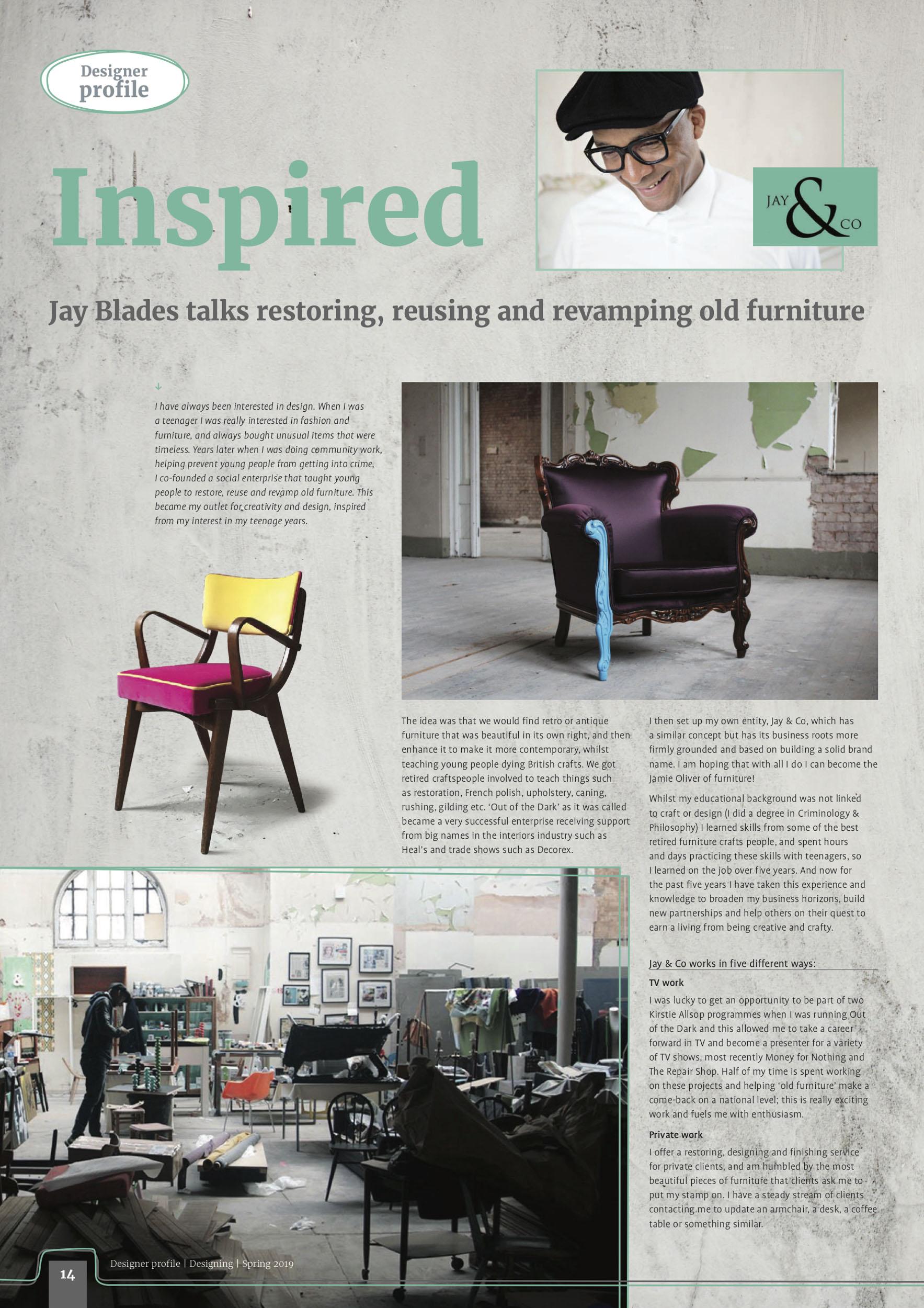 Designing Magazine