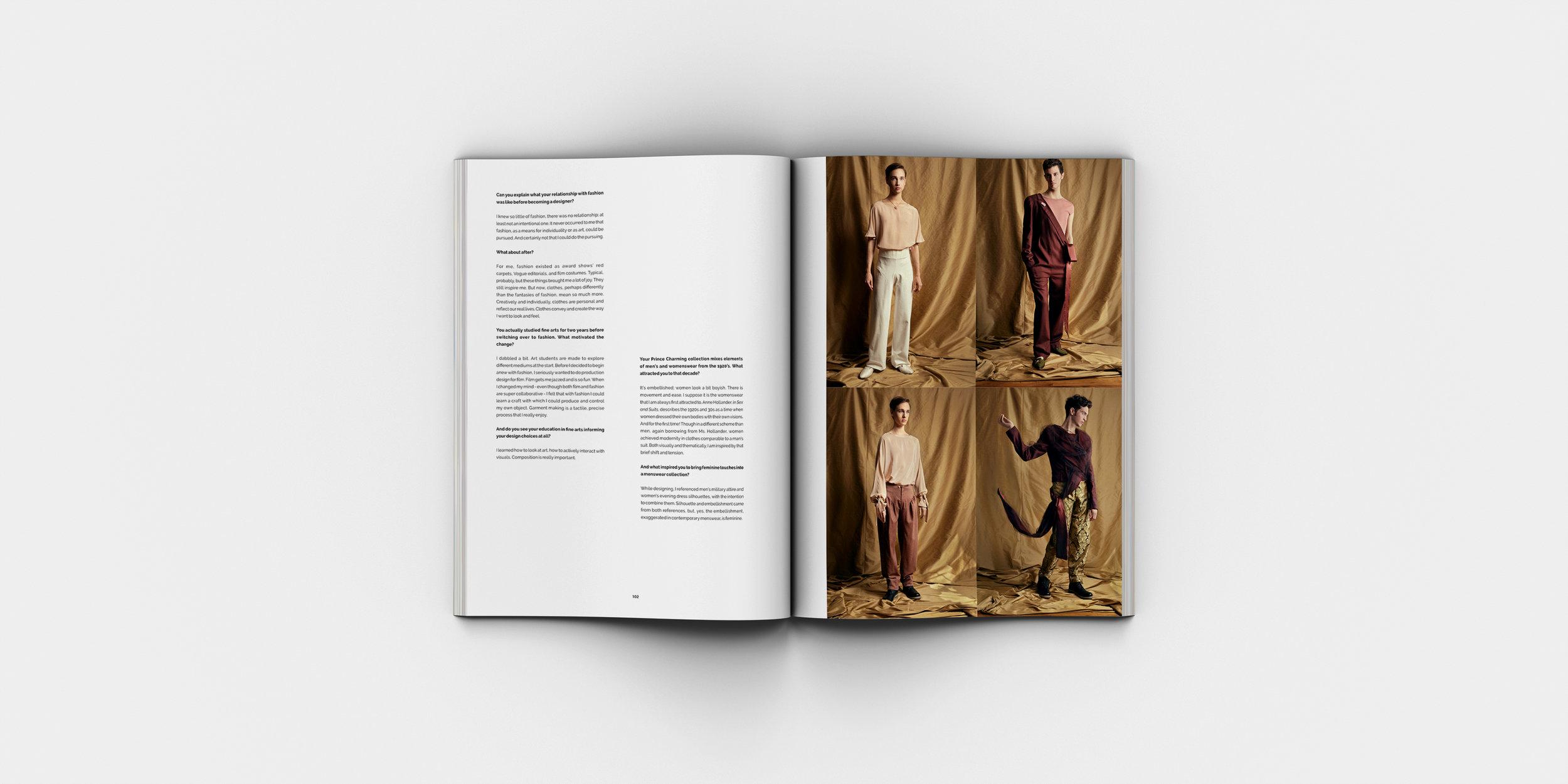 flanelle magazine - issue #13 — garrett naccarato