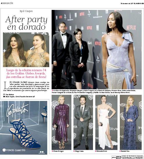 El Nuevo Día Newspaper 01.15.17