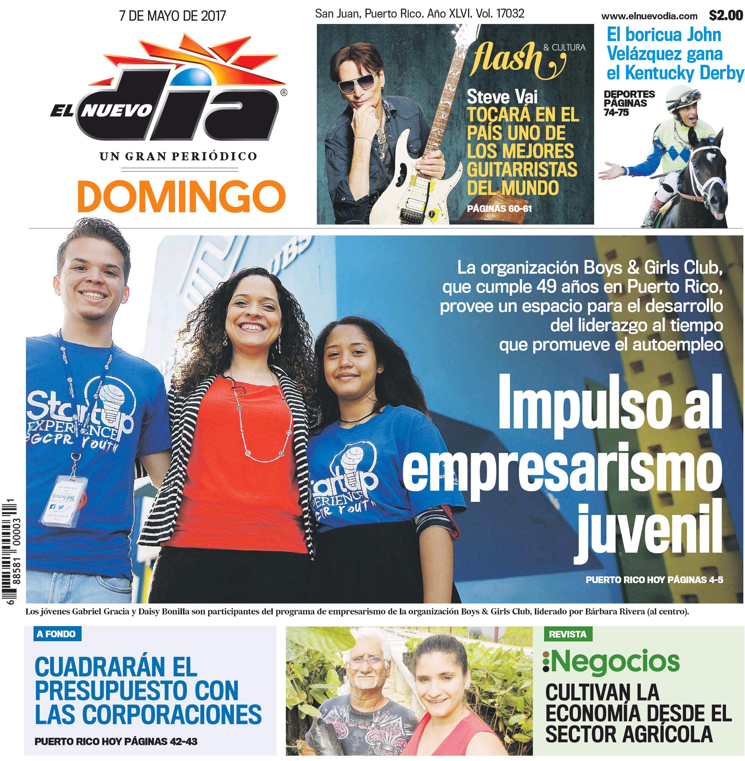 El Nuevo Día Newspaper 05.07.17