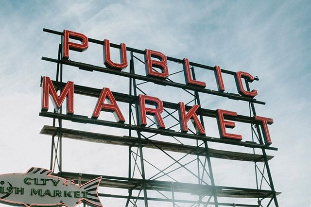 There's no place like @pikeplacepublicmarket  Link in bio for more.  #cjdiary #seattle