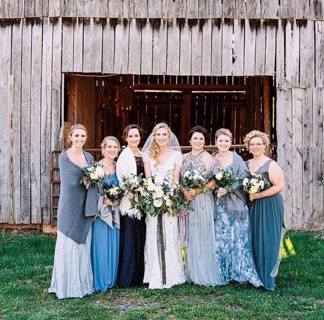 Wedding planner: Mary Bell Events; Wedding photographer: Rachel McIntosh Photography; Makeup: Blush Asheville