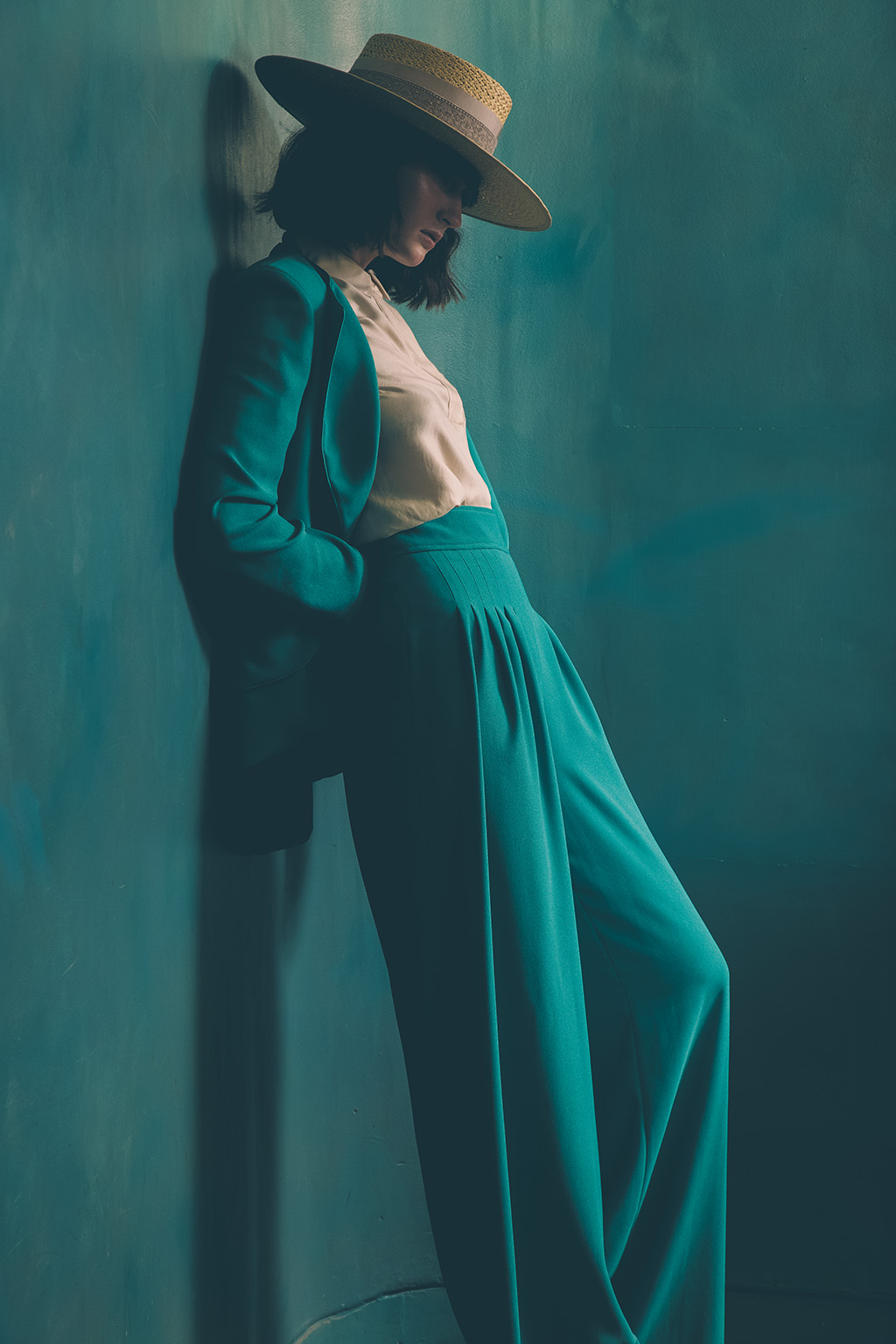 What has been your most memorable shoot? - Probably the Lock Hatters' SS17 women's shoot, where I had an idea to shoot the model who was wearing a beautiful turquoise two piece suit (styled by The Style Siblings), to pose against a wall which had an almost identical color to the suit. Thinking it would clash, I was hesitant, but my colleagues encouraged me to try it. I took the first shot and almost collapsed from how powerful the shot looked; it was instantly my favorite shot I had ever taken. Speaking of collapsing, about 20 seconds after I took that shot, the model fell down the stairs and broke her ankle...What's creepy is the fact that her boyfriend, who is also a model, was also shooting that day, and had also broken his leg and was in another hospital in London at the same time. Bizarre. So yeah, that was pretty memorable!