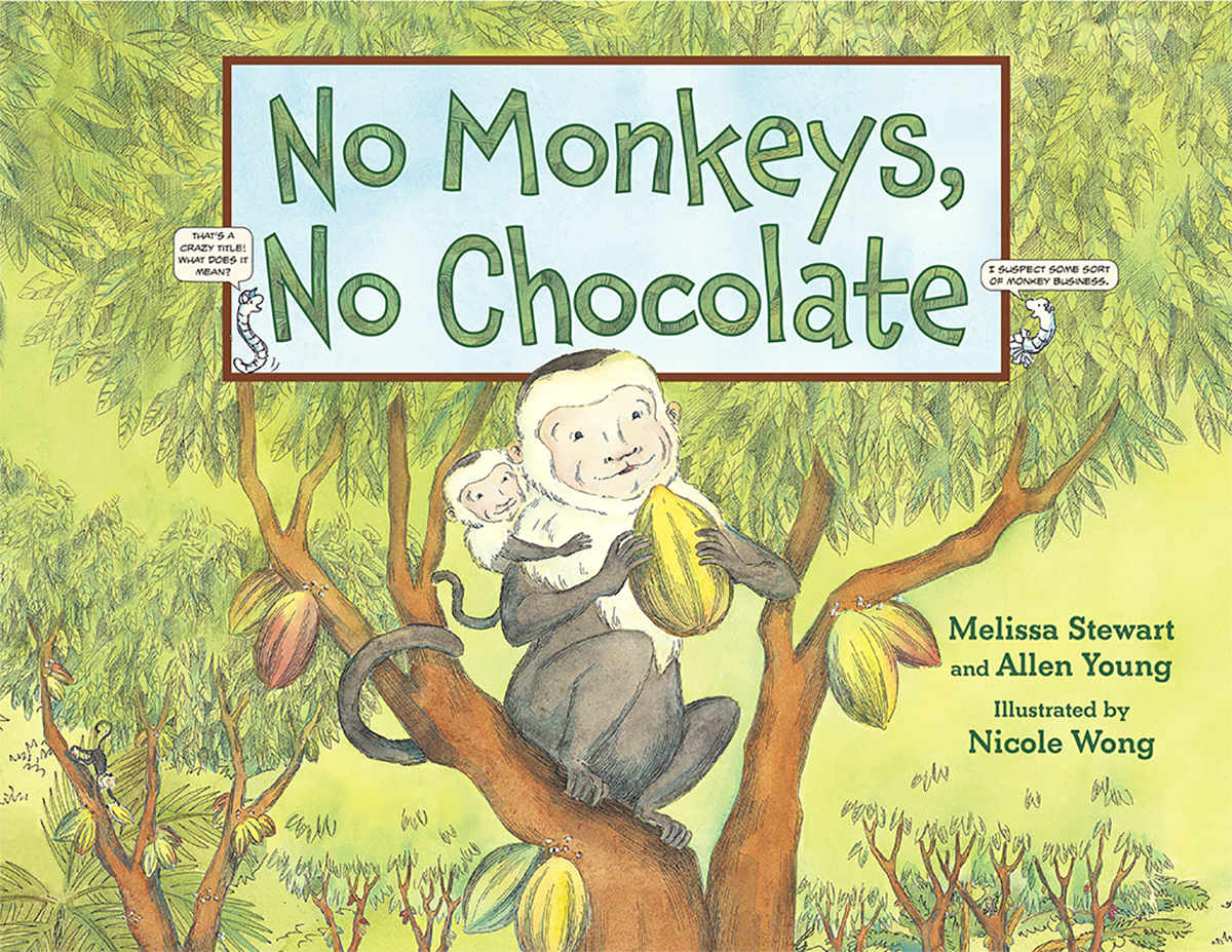 by Melissa Stewart and Allen Young, illustrations by Nicole Wong, Charlesbridge 2013