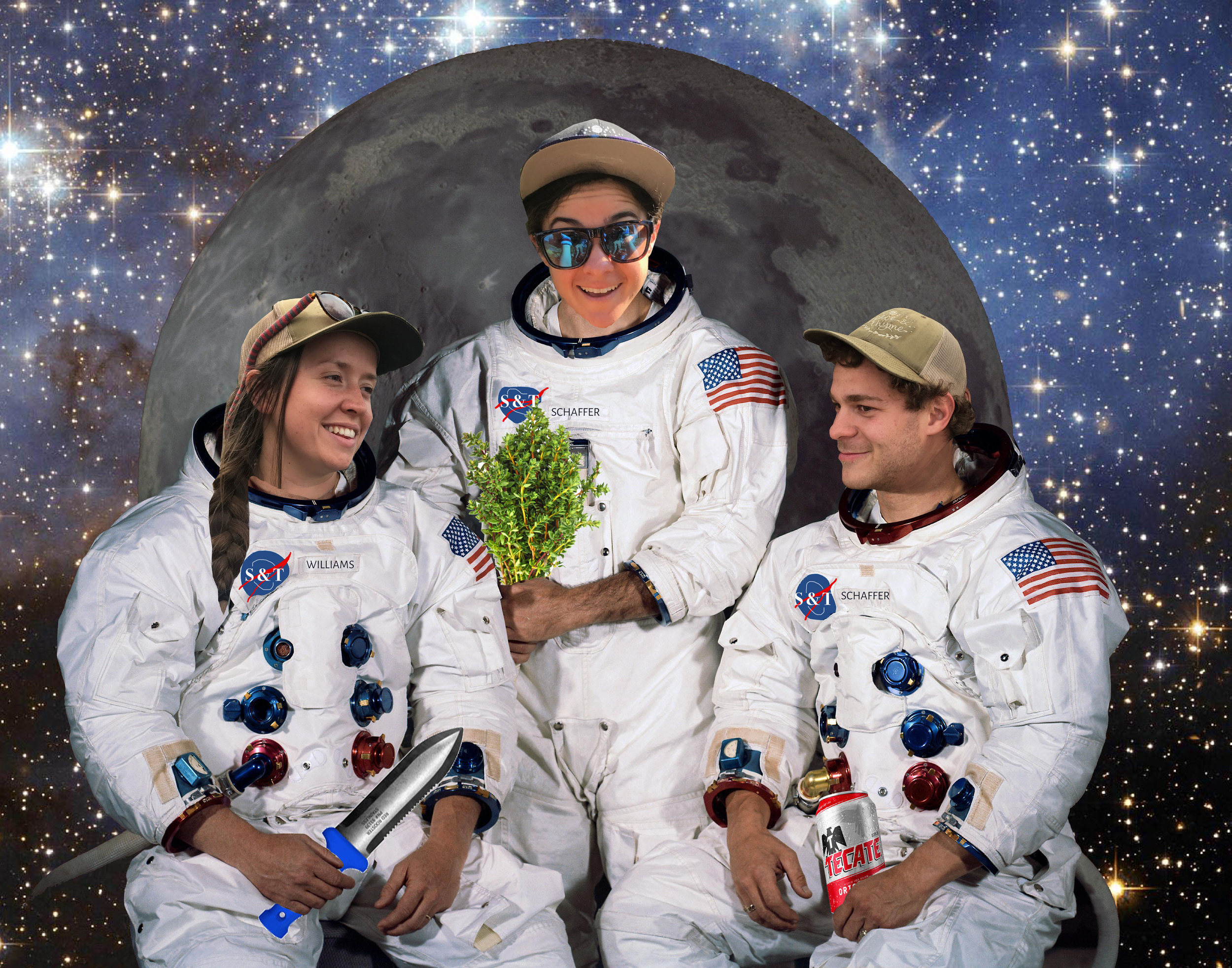 Join our team. - Now that we have retired from space gardening, we're looking for terrestrial help this 2019 gardening season!