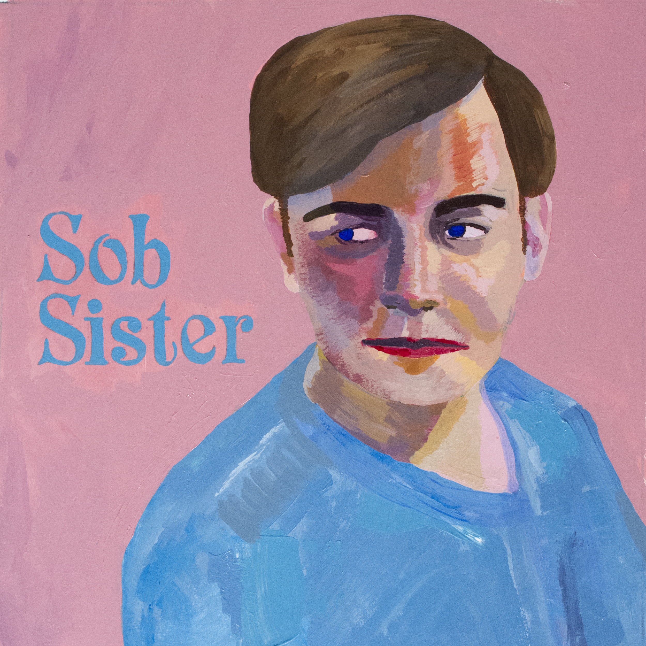 Sob Sister  acrylic on illustration board