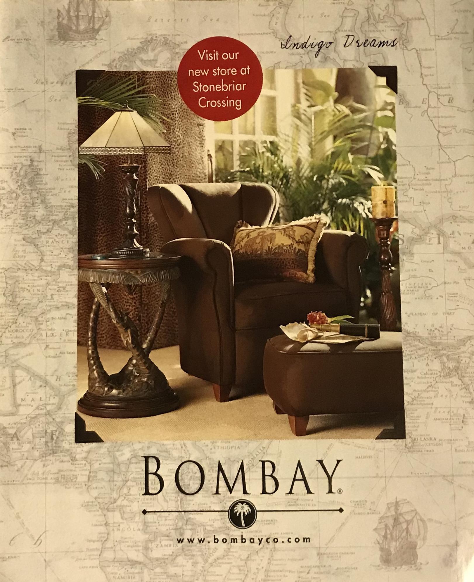 - BOMBAY COMPANY CATALOG