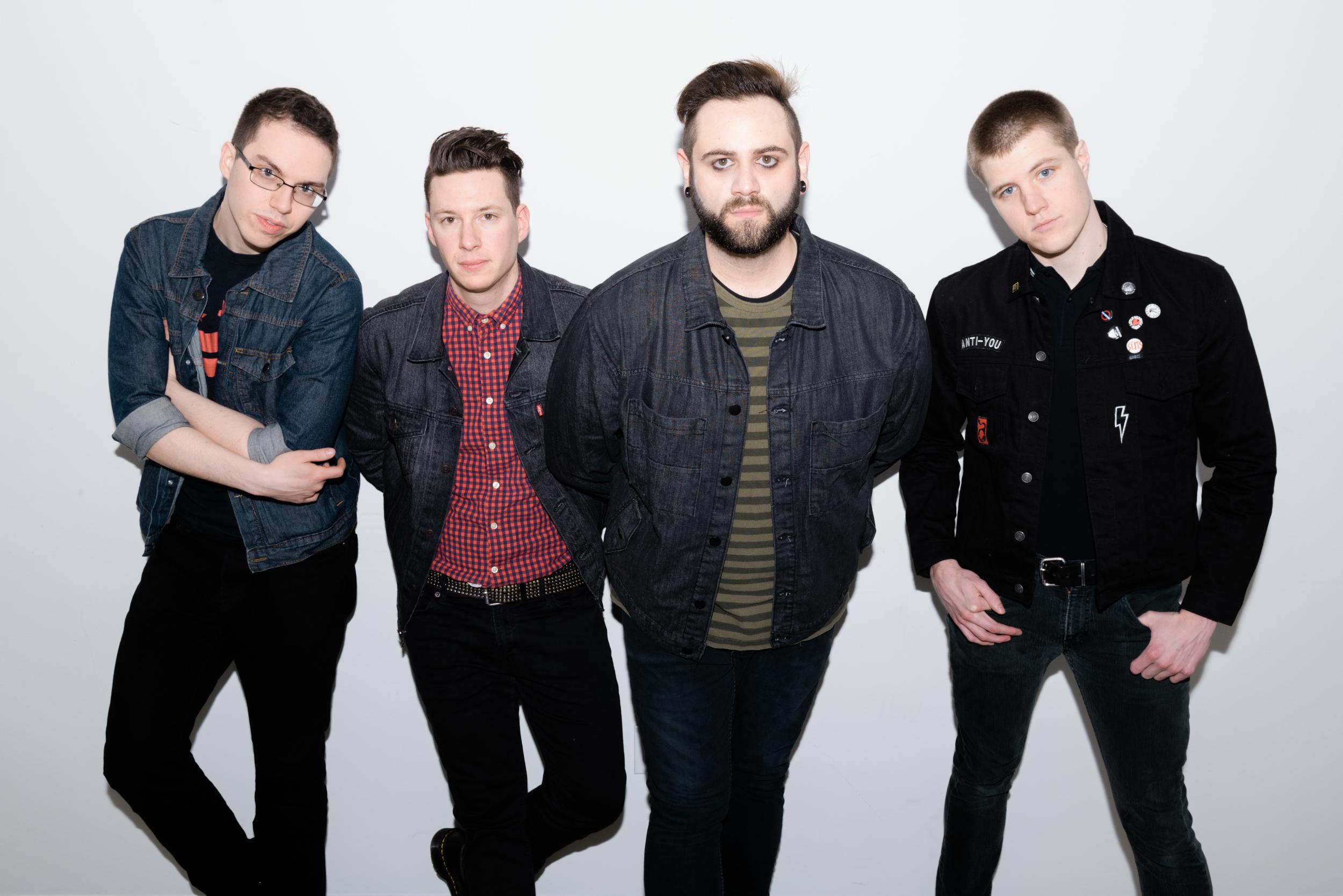 Alex, Sean, Derek, Drew  Photo by Karlin Villondo Photography