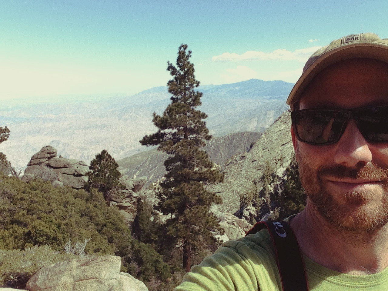 Visual Effects Supervisor Mark Youngren at 8,516 ft.