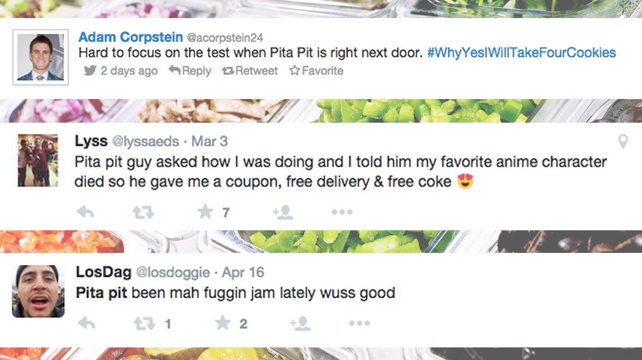 The Insight - People really love Pita Pit. It has a cult following that stems from their quirky DIY feel. So we introduced