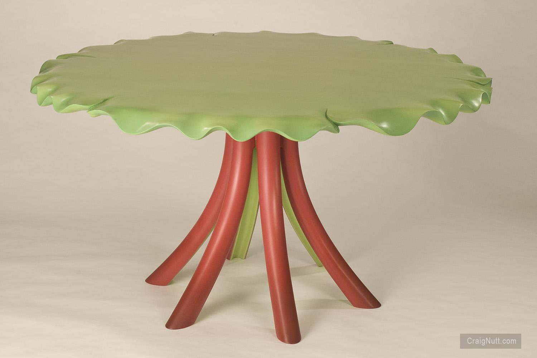 Rhubarb Table