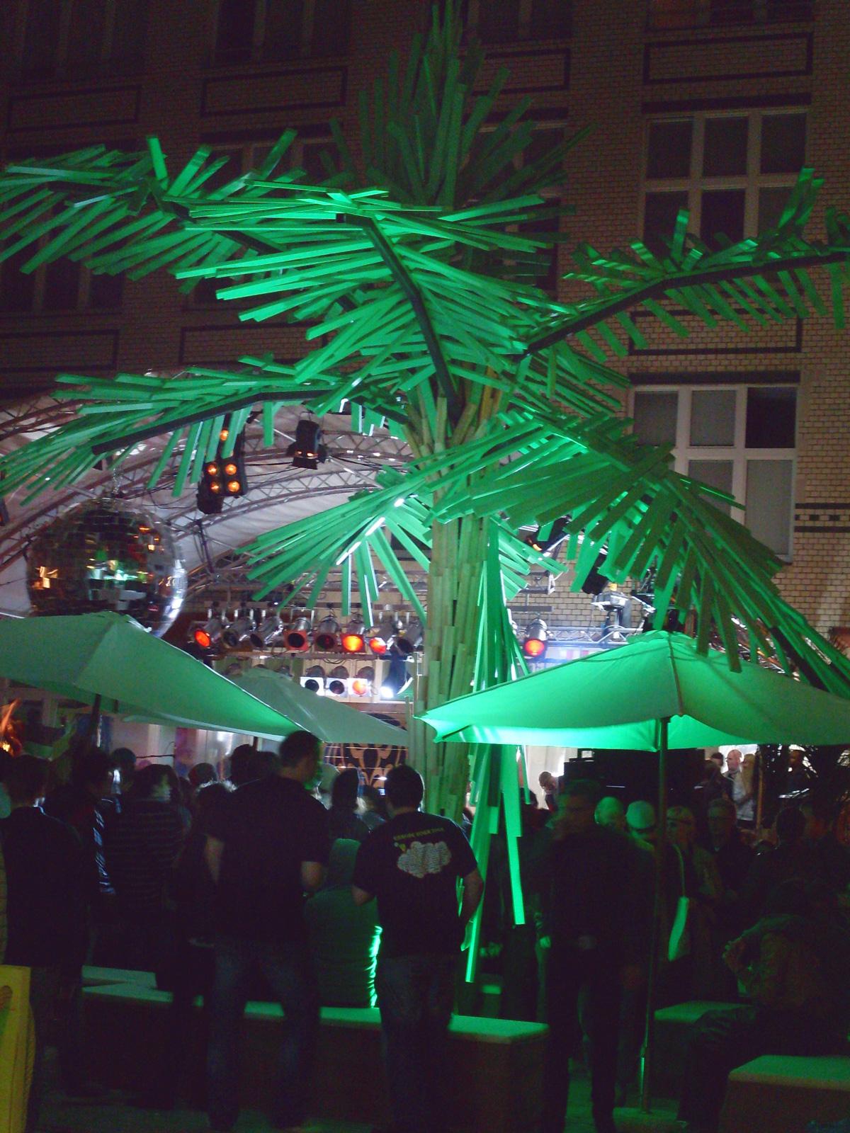 Palme  Bacardi Event  Vice Deutschland GmbH