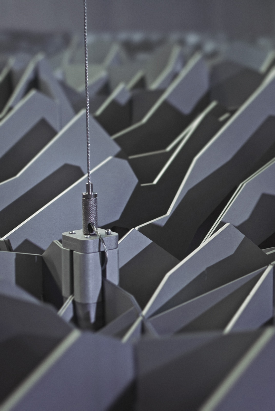 Helvetia Aeria Landesmuseum Zürich Topographie Deckenskulptur