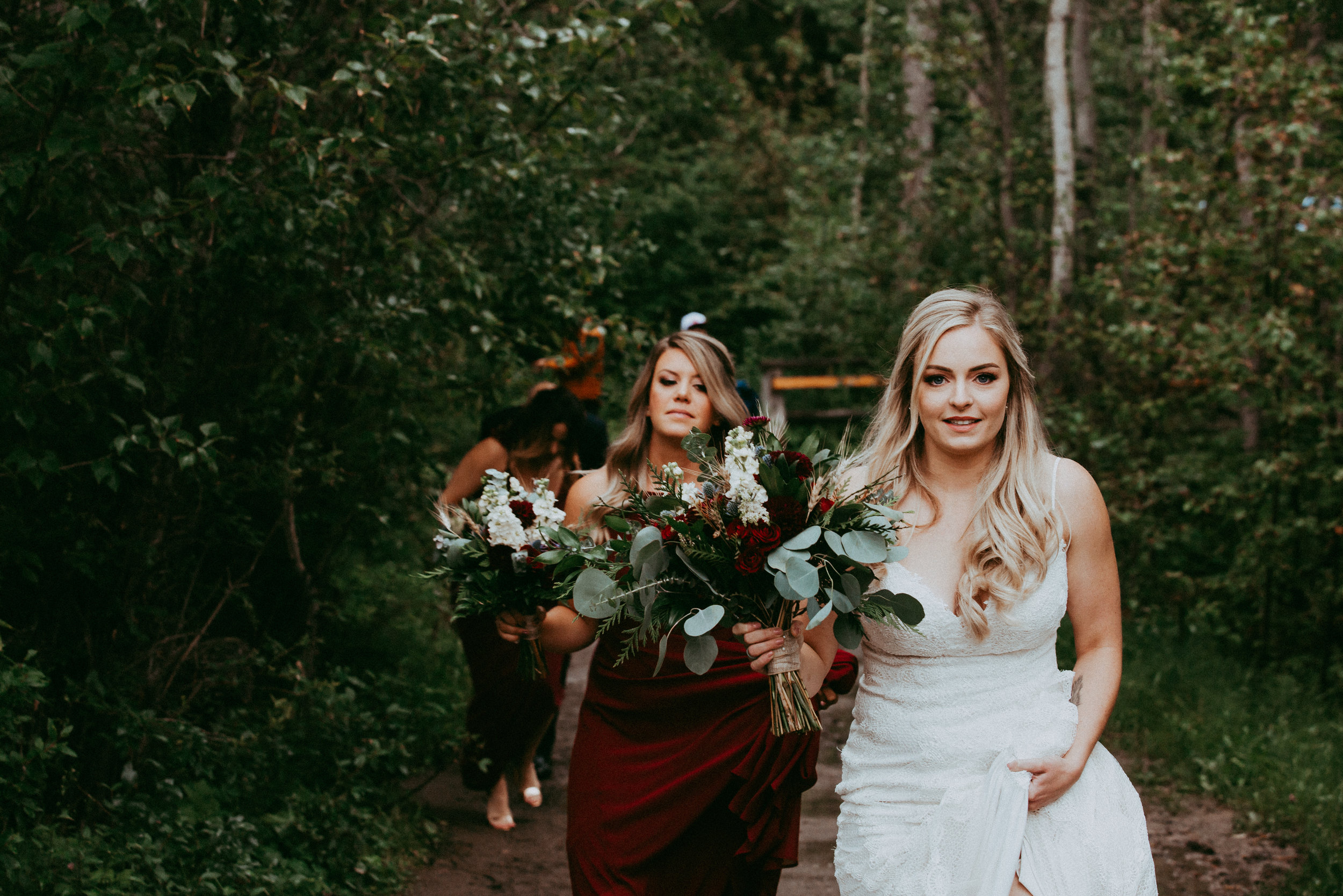 Beautiful natural Makeup for this Jasper Wedding  Photo by- In White Studios  www.inwhite.ca