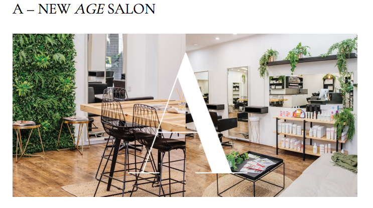 A NEW AGE SALON