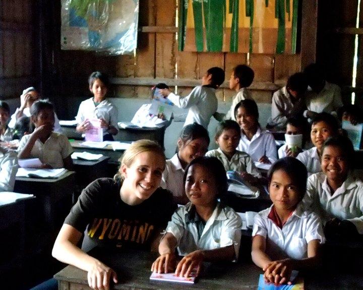 McKenzie serving in Cambodia.