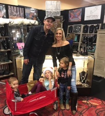 Vegas 2017. Bryan, Melanie and their 3 kids (5,4 and 1.5)