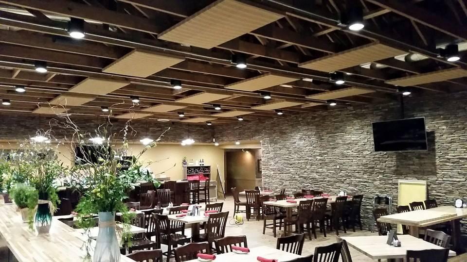 Restaurant sound and video installations