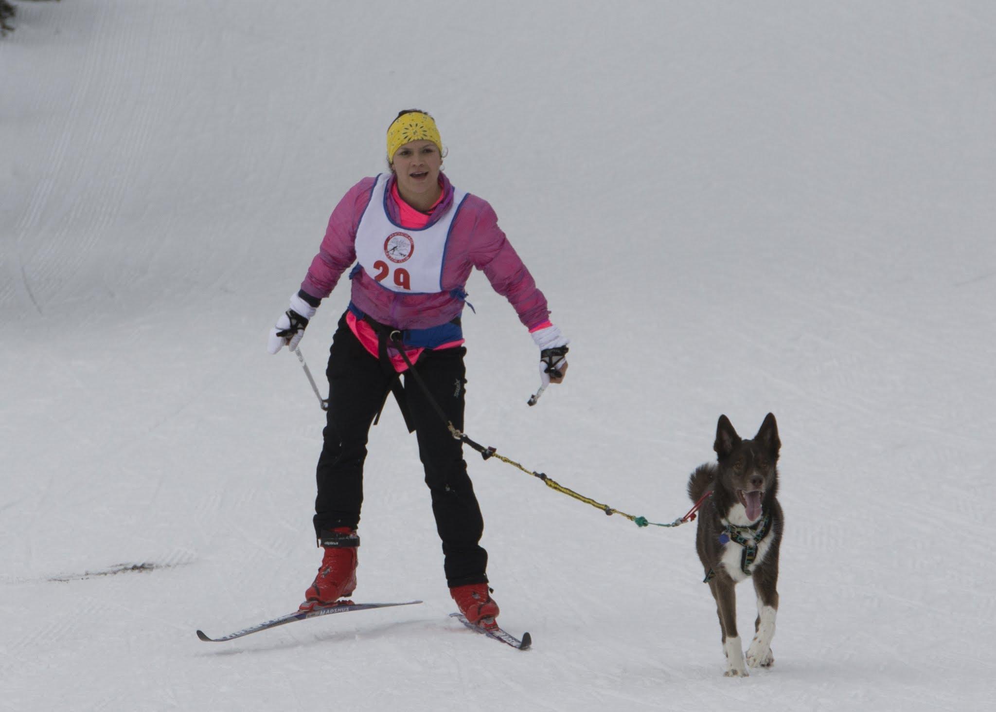Brena Larson with Yuki
