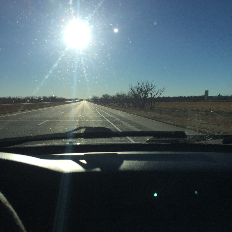 Heading east in the AdventureMobile (aka 2000 Honda CRV)