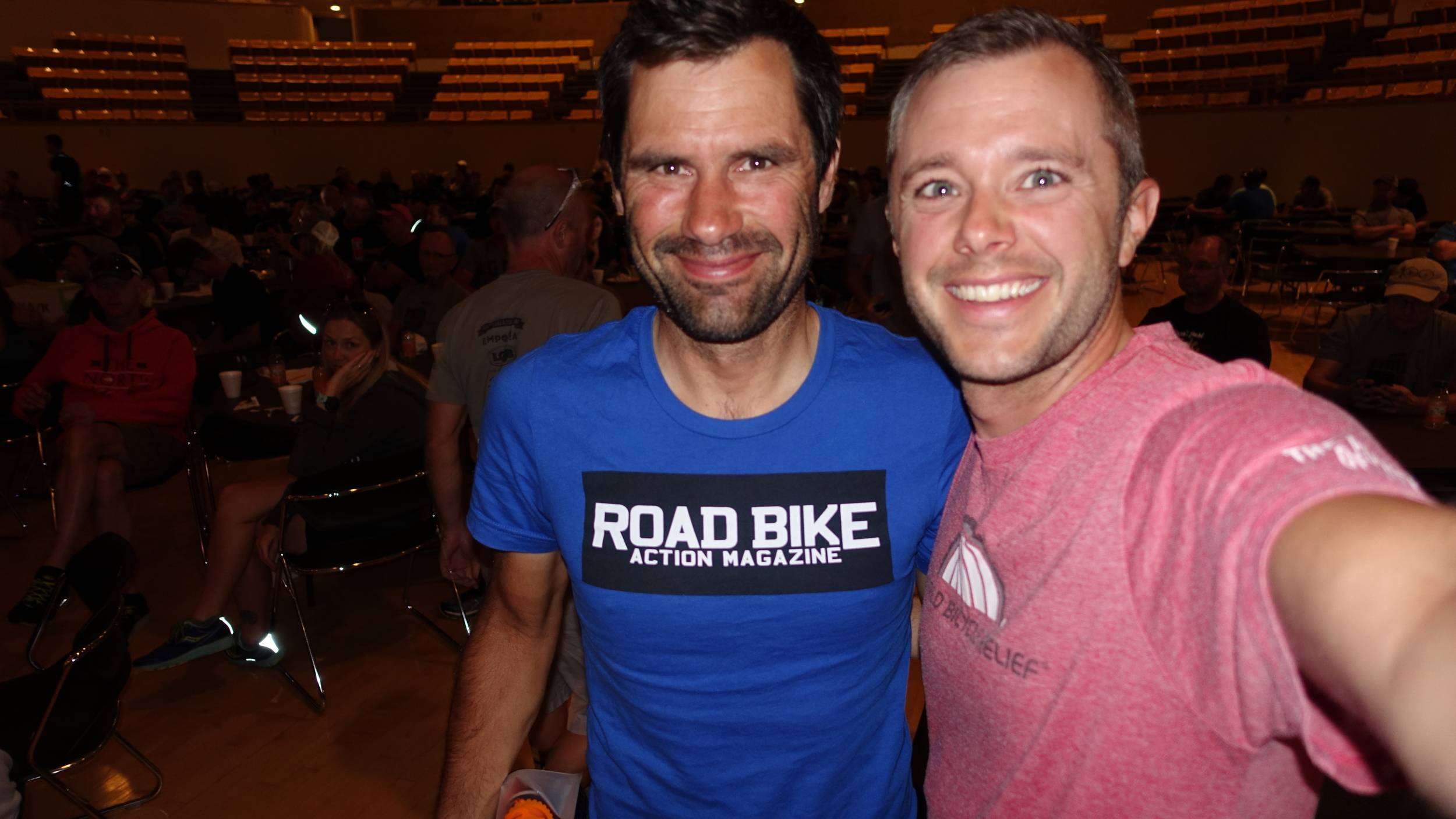Neil Shirley had a mechanical-free Dirty Kanza. If you ever get a chance to meet this Road Bike Action editor, you'll encounter one of the nicest guys in cycling.