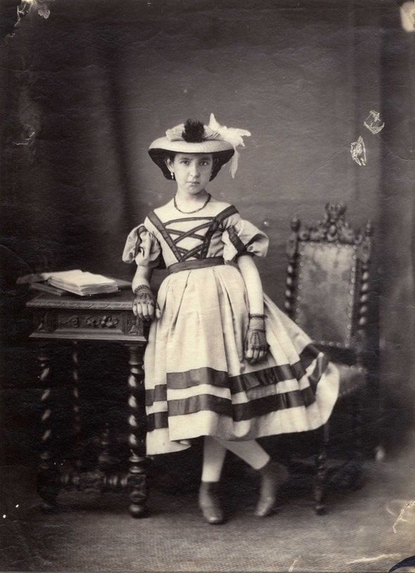 Marie-Alexandre Alophe.  Untitled , c. 1859. Albumen print from collodion-on-glass negative. Collection of Michael Mattis and Judy Hochberg