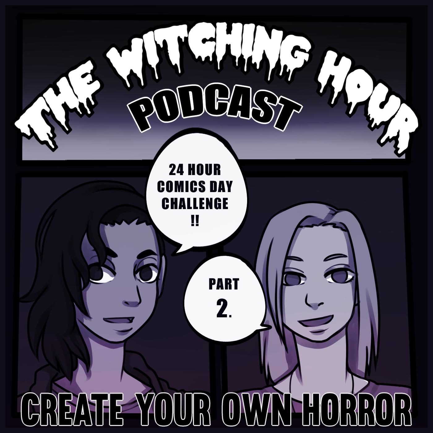 the_witching_hour_podcast_creative_horror_ep21_comics_day