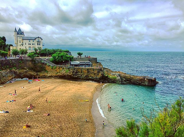Picture perfect Biarritz 🏰🏖
