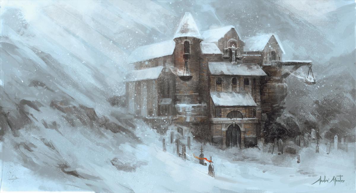 D&D  Monastery of Kelemvor