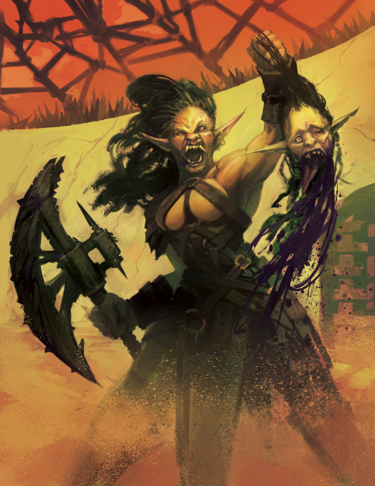 Orc Warrior  Copyright © Schwalb Entertainment