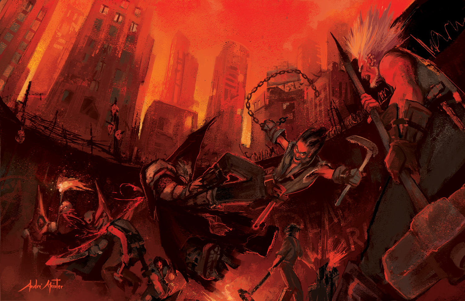 Brawl - Shadow of The Demon Lord Copyright © Schwalb Entertainment