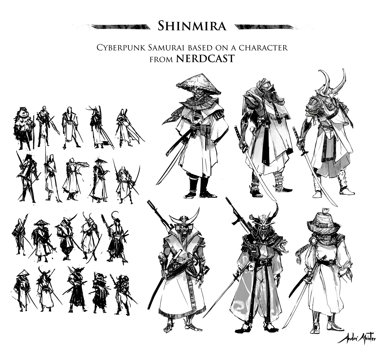 NerdCast Especial RPG - SHINMIRA OVERCOATED - CONCEPT CLOTHING STUDIES