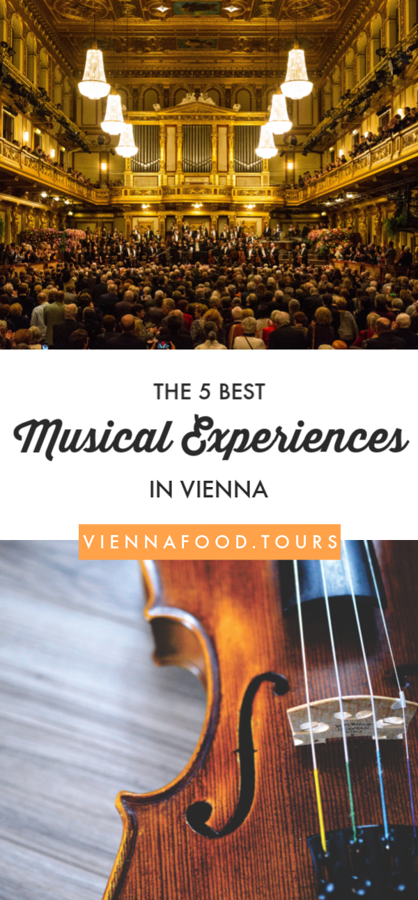 The Best 5 Musical Experiences in Vienna