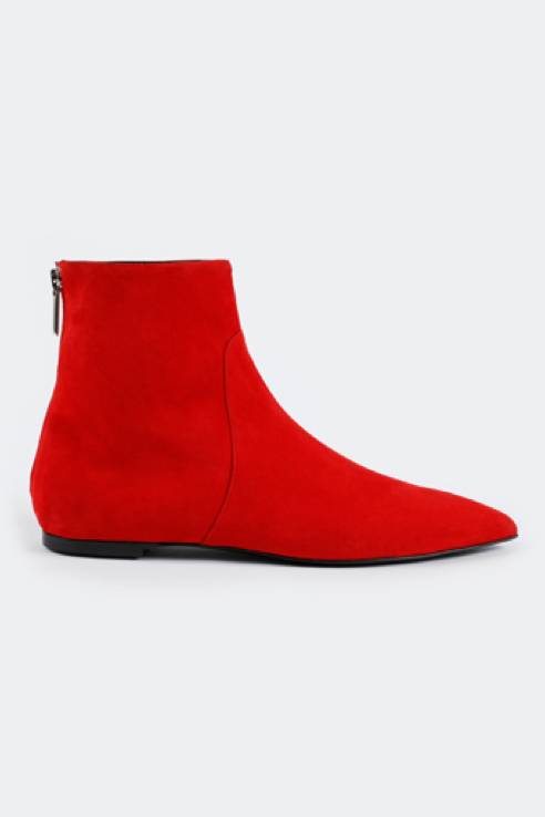 756 RED SUEDE -