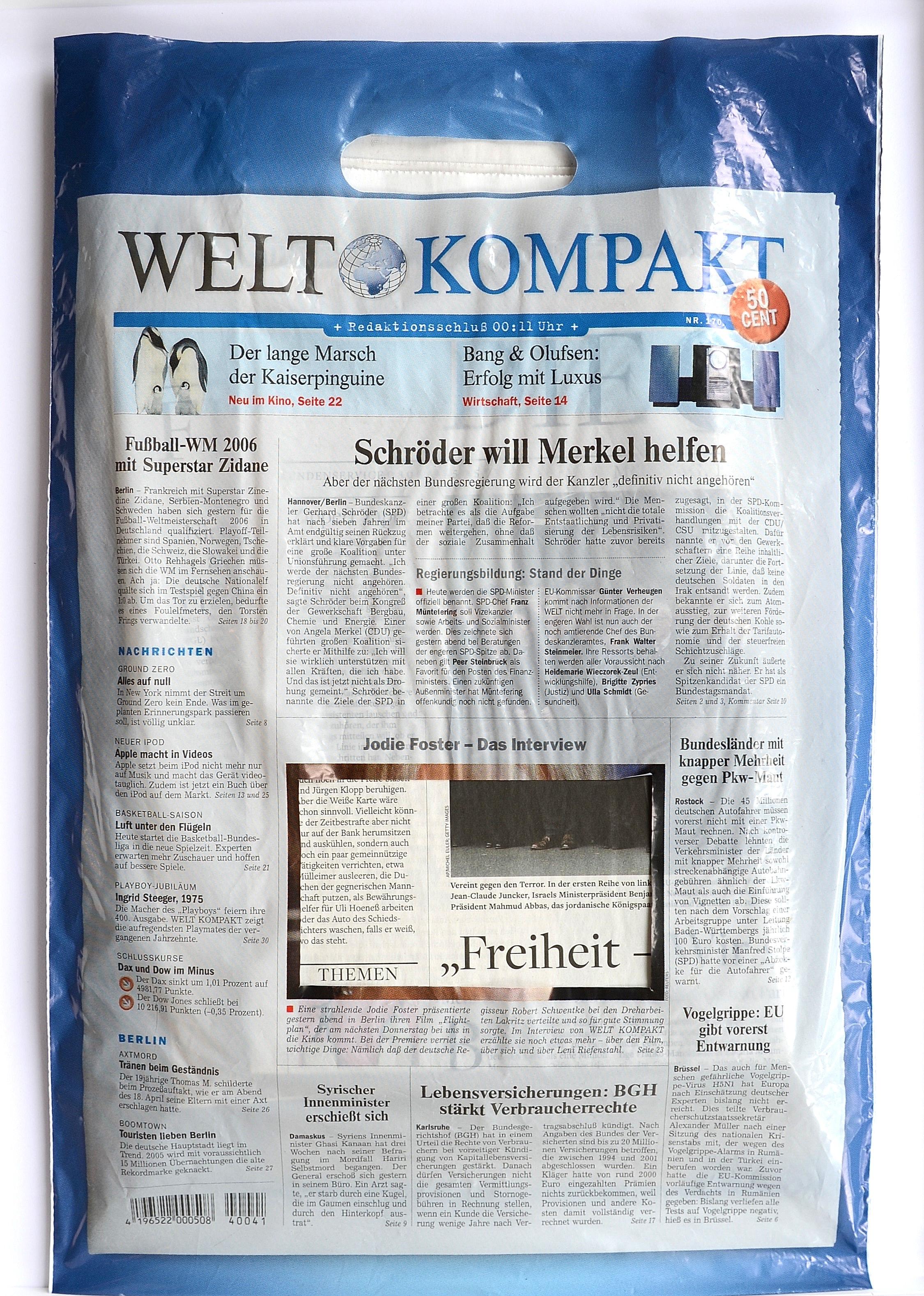 Roland Schefferski, Welt Kompakt, 2015
