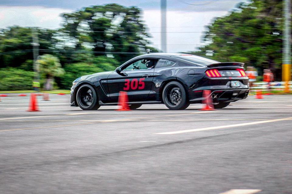 Mike's GT350 at FAST Autocross