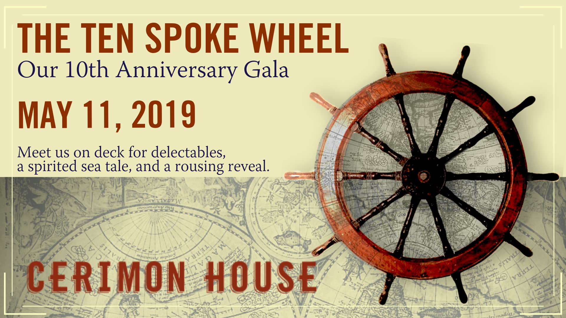 Our 10th Anniversary Gala — Cerimon House